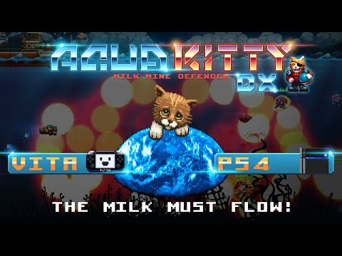 Aqua Kitty - Milk Mine Defender