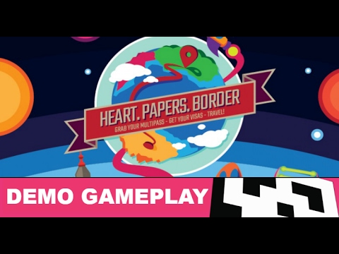 Heart. Papers. Border.