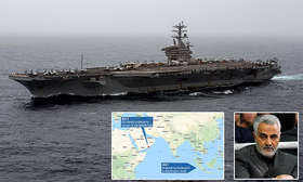 Trump overruled acting Defense Secretary and ordered the USS Nimitz BACK to the Middle East