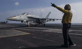 US to move aircraft carrier out of Mideast amid Iran