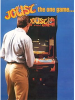 Joust video game