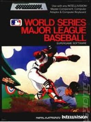 Intellivision World Series Baseball