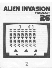 Videocart-26: Alien Invasion