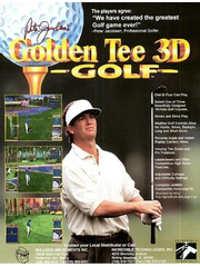 Peter Jacobsen's Golden Tee 3D Golf