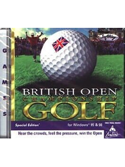 British Open Championship Golf