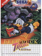 Deep Duck Trouble starring Donald Duck