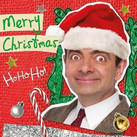 Mr Bean Merry Christmas Card Ho Ho Ho ! New Gift • £2.59 ...