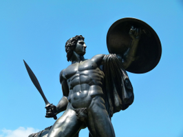 Achilles statue | View from the Mirror