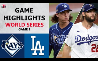 Tampa Bay Rays vs. Los Angeles Dodgers Game 1 Highlights | World Series (2020)