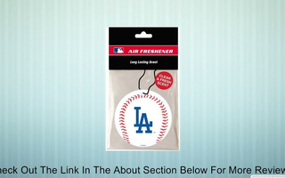 Los Angeles Dodgers Air Freshener Review