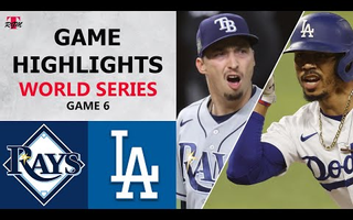 Tampa Bay Rays vs. Los Angeles Dodgers Game 6 Highlights | World Series (2020)