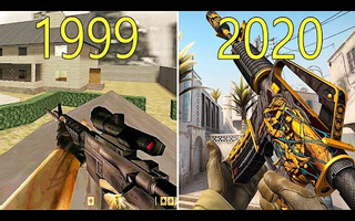 Evolution of Counter Strike Games 1999-2020