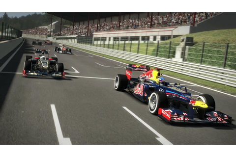 Racing the champions in the F1 2012 game