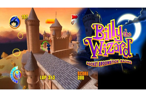 Billy the Wizard: Rocket Broomstick Racing ... (PS2) - YouTube