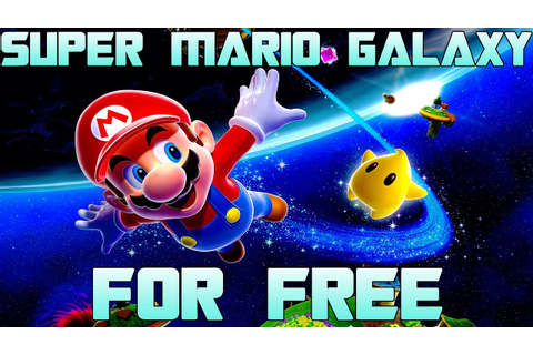 How to Get Super Mario Galaxy For Free For PC! Gameplay ...