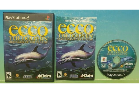 Ecco The Dolphin Defender of The Future Playstation 2 PS2 ...