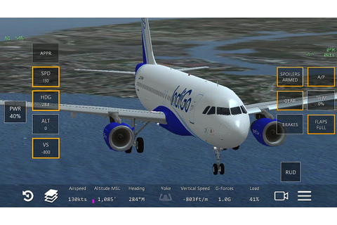 Tutorial Perfect Landing Infinite Flight indiGo Airbus ...