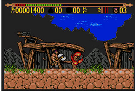 Torvak the Warrior (AMIGA) - Onlinemania