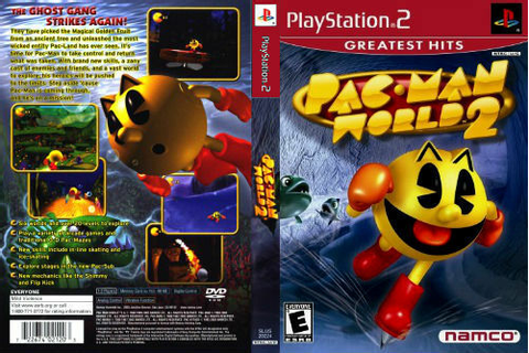 Pac-Man World 2 Sony PlayStation 2 PS2 COMPLETE Case ...
