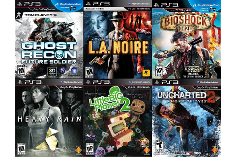 PlayStation-only games