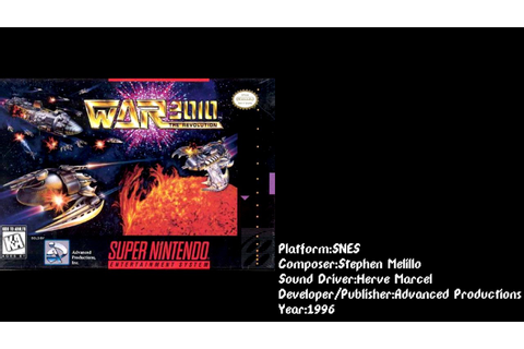 War 3010: The Revolution (SNES) Soundtrack - YouTube