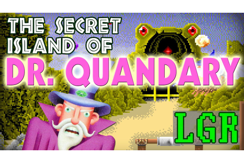 LGR - Secret Island of Dr. Quandary - PC Game Review - YouTube