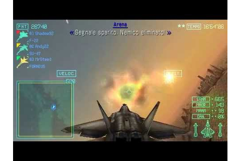 Ace combat Joint Assault Gameplay Online (ITA) Mission 21B ...