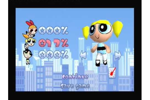 The Powerpuff Girls: Chemical X-Traction - PS1 game ...