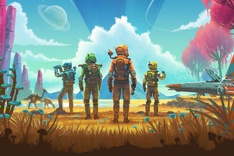 No Man's Sky's big multiplayer update launches in July ...
