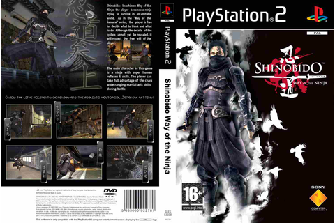Shinobido – Way Of The Ninja (PS2) | CAPAS DE DVD – CAPAS ...