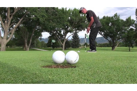 Amazing Golf Trick Shots -- ChemicaVision - YouTube