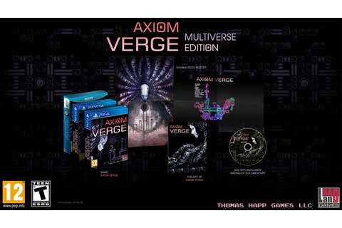 Axiom Verge is Getting a Special Edition Physical Release ...