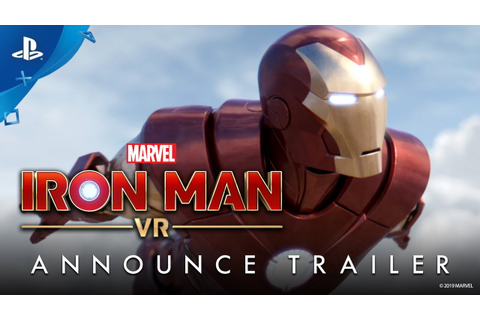 Marvel's Iron Man VR Arrives 2019 on PlayStation VR ...