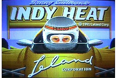 Danny Sullivan's Indy Heat - Videogame by Leland