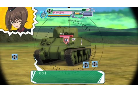10 minutes of Girls und Panzer: Master the Tankery ...