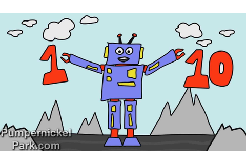Counting Numbers 1 to 10 with Robot Ralph - Learn Math ...