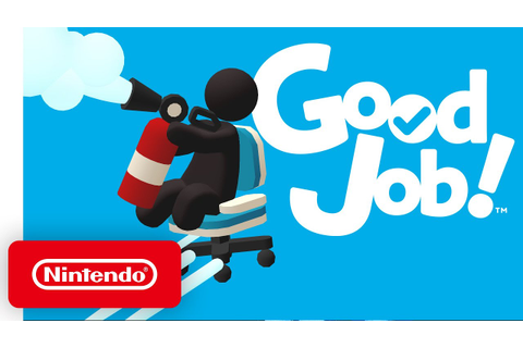 Good Job! - Announcement Trailer - Nintendo Switch - YouTube