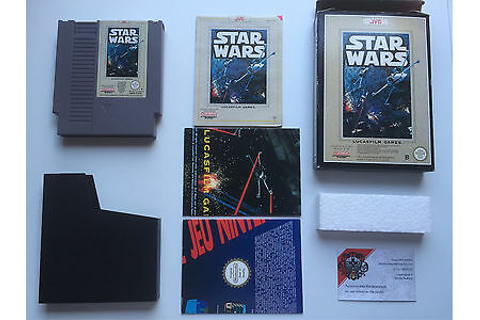STAR WARS NINTENDO NES