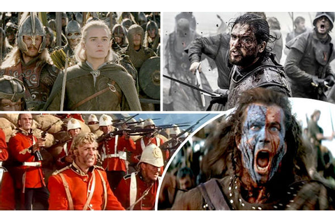 Top movie and TV battles: Game of Thrones, Lord of Rings ...