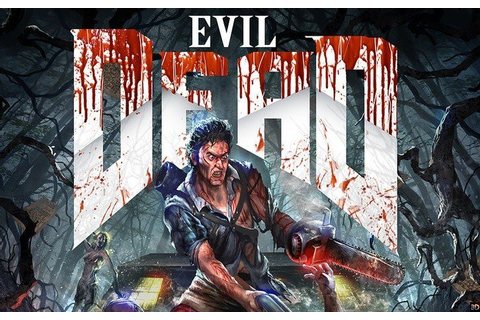 Epic New Evil Dead Poster Pays Tribute To Doom