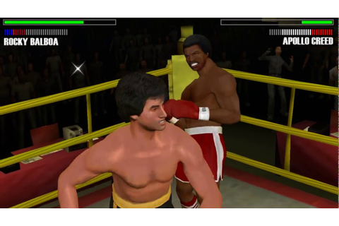 Rocky Balboa - PSP (PPSSPP) Rocky Balboa vs Apollo Creed 2 ...