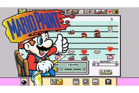 Making Music With Mario Paint - YouTube