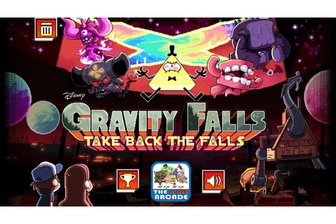 Gravity Falls: Take Back The Falls - Weirdmageddon, Levels ...