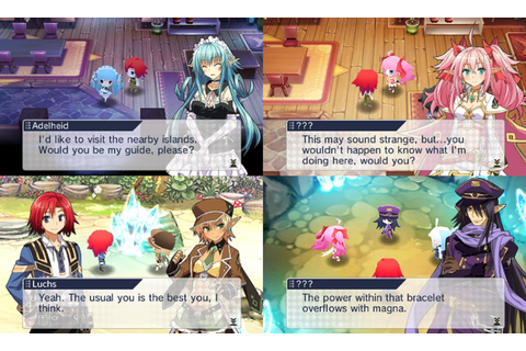 Lord of Magna Maiden Heaven Gameplay Screenshot 3DS ...