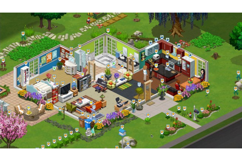 Zynga's latest Facebook game takes Electronic Arts' Sims ...
