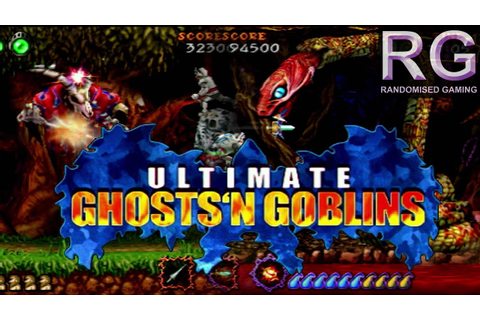 Ultimate Ghosts'n Goblins - PSP - Intro and full world 1 ...