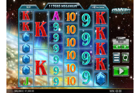 Starquest | Play Starquest Video Slots By Big Time Gaming ...