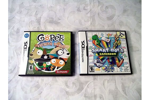 Sold GoPets Vacation Island Smart Boy's Gameroom