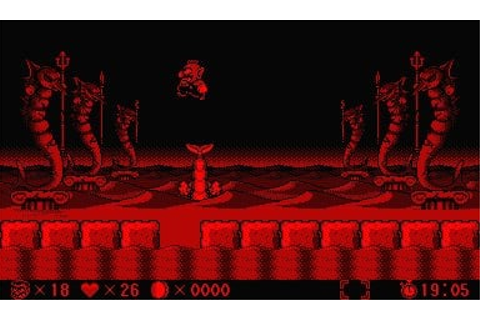Virtual Boy Wario Land (VB / Virtual Boy) Game Profile ...