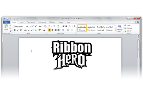 Ribbon Hero: a Game About Using Ms Office? Go Clippy, Go ...